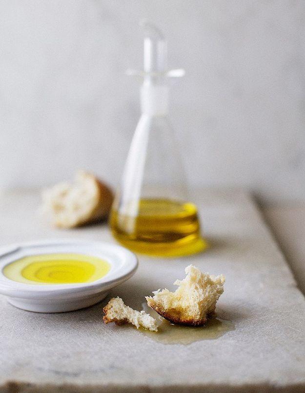 Le beurre et l'huile sont des aliments gras qui font maigrir