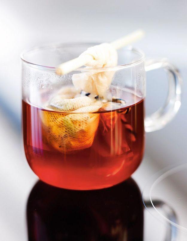 Aliment peu calorique : le thé