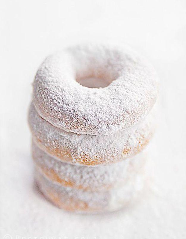 Donuts poudrés