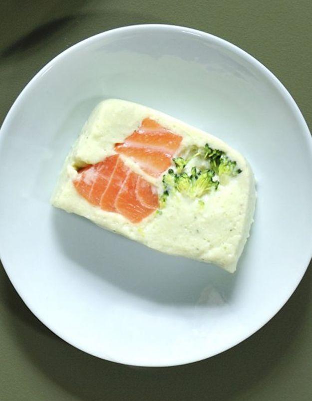 Terrine saumon-brocolis