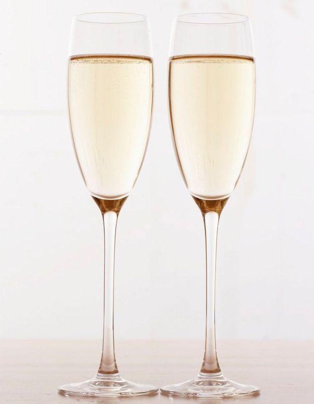 Combien de calories dans le champagne