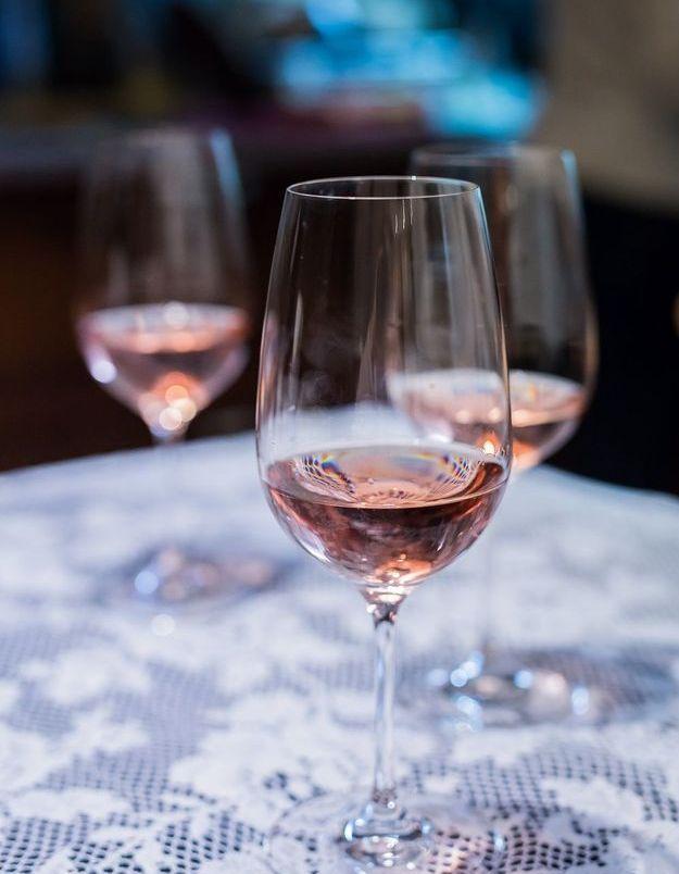 Combien de calories dans le vin rosé