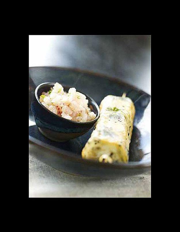 Croustillants au tartare de poisson