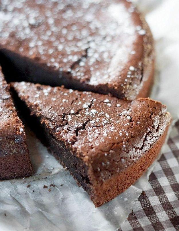 Dessert au chocolat avec mascarpone : moelleux au chocolat et au mascarpone
