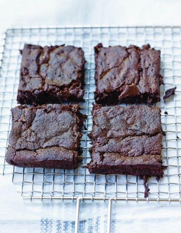 Fondant chocolat et courgette