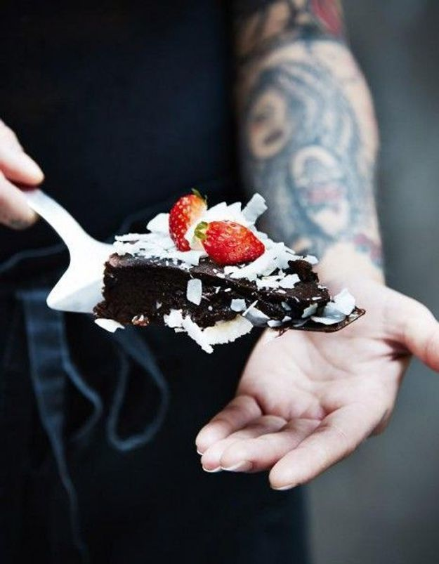 Gâteau sans oeuf au chocolat moelleux