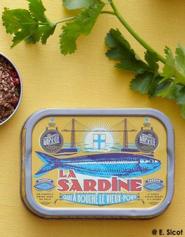 Sardines et légumes tièdes à la marocaine