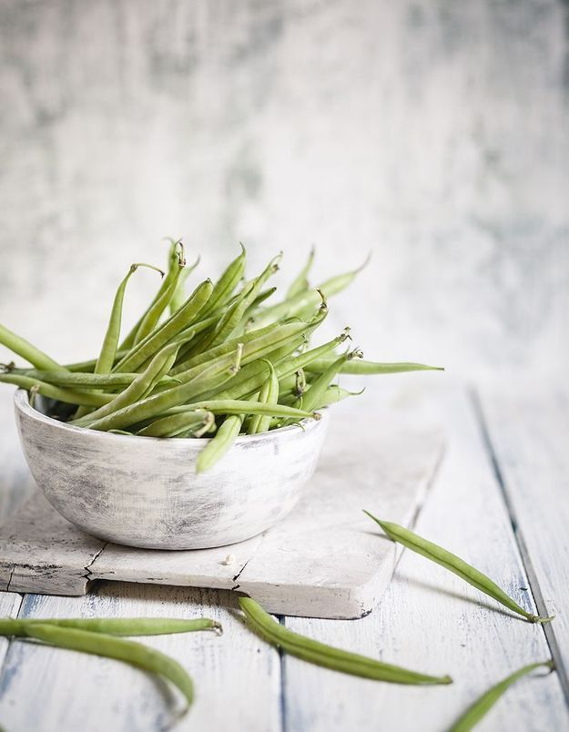 Les haricots verts sont des légumes minceur