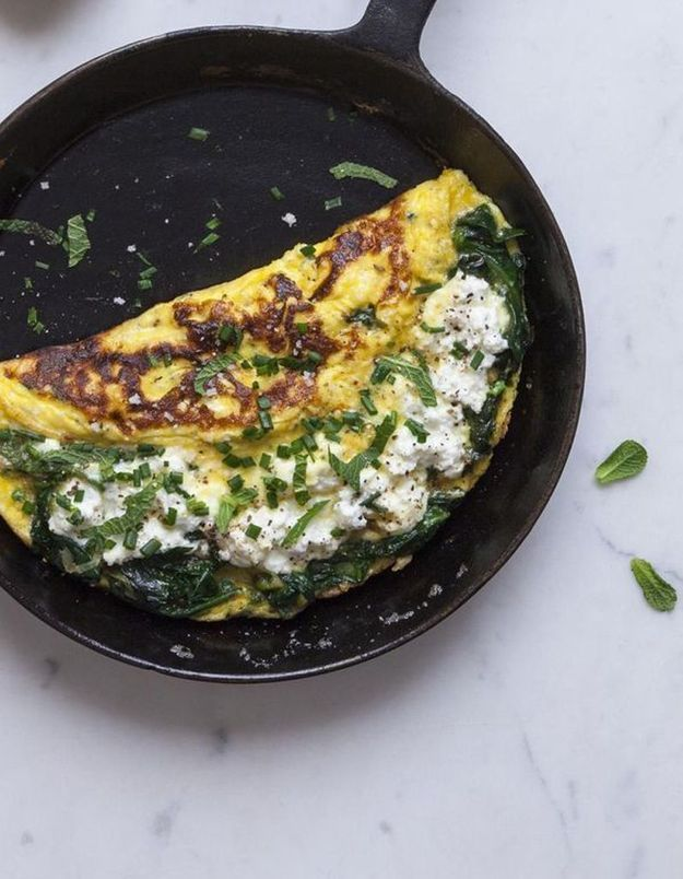 Omelette fromagère