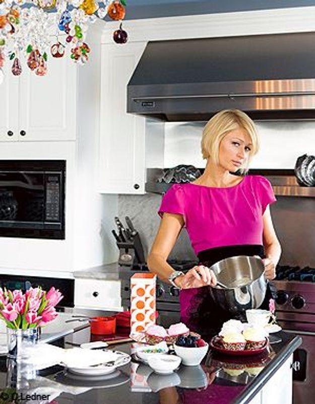cfbdbd35e3 Paris Hilton nous fait la cuisine ! - Elle à Table