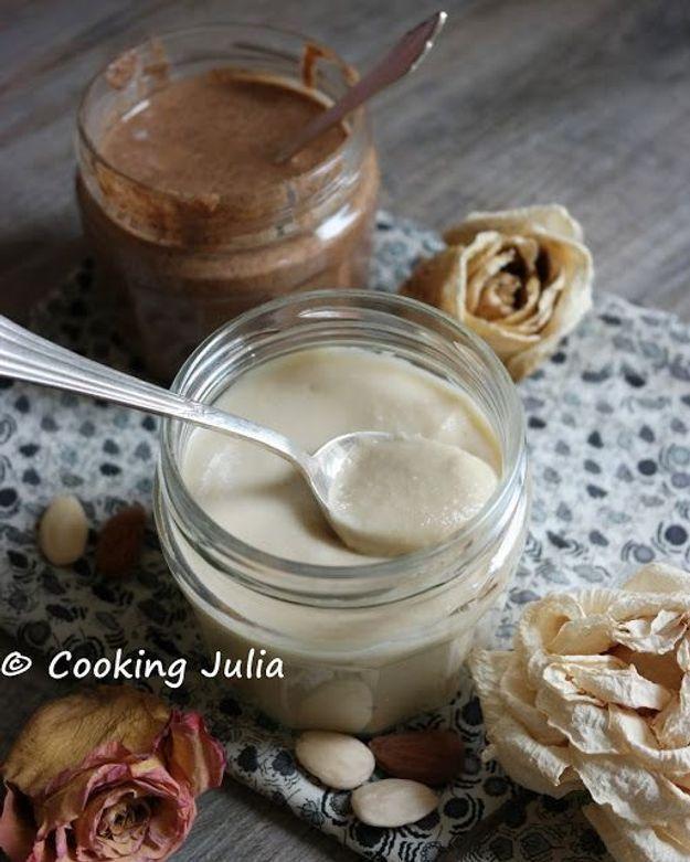 Pâte à tartiner healthy et vegan amandes