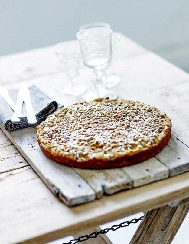 Bread cake aux noisettes, potiron et tournesol