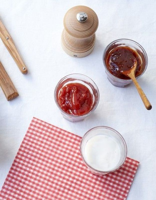 Sauce tomate ketchup maison