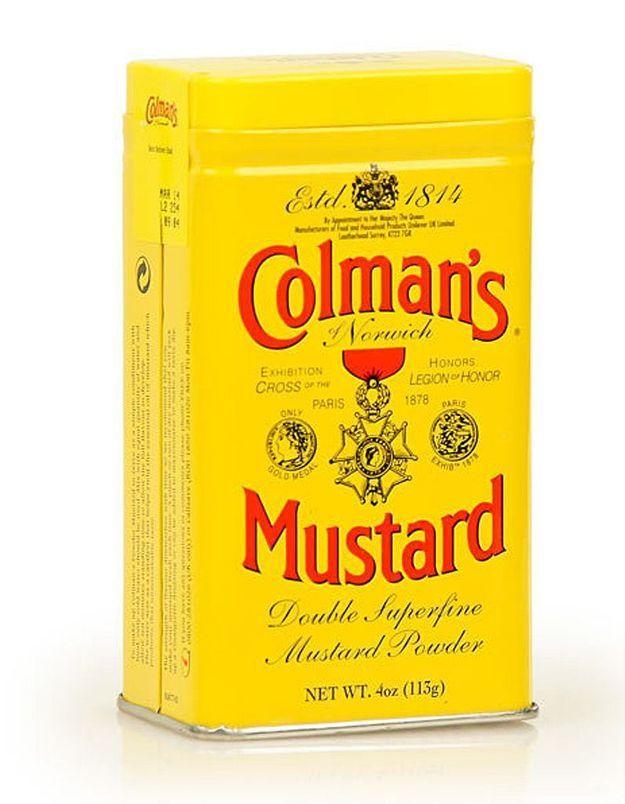 Moutarde en poudre Colman's