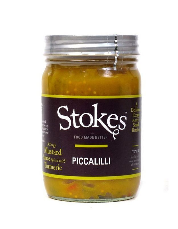 Sauce Piccalilli Stokes
