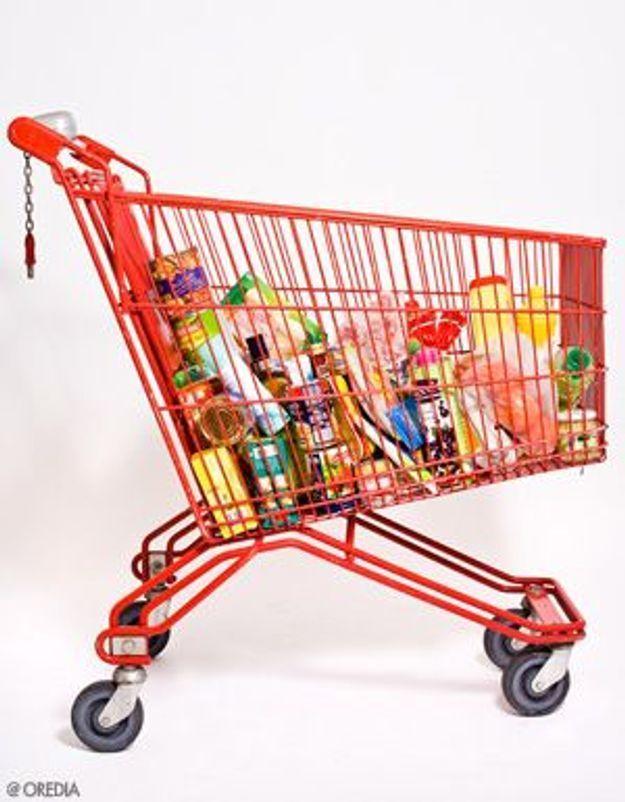 Supermarché : un caddie qui fait plaisir aux enfants