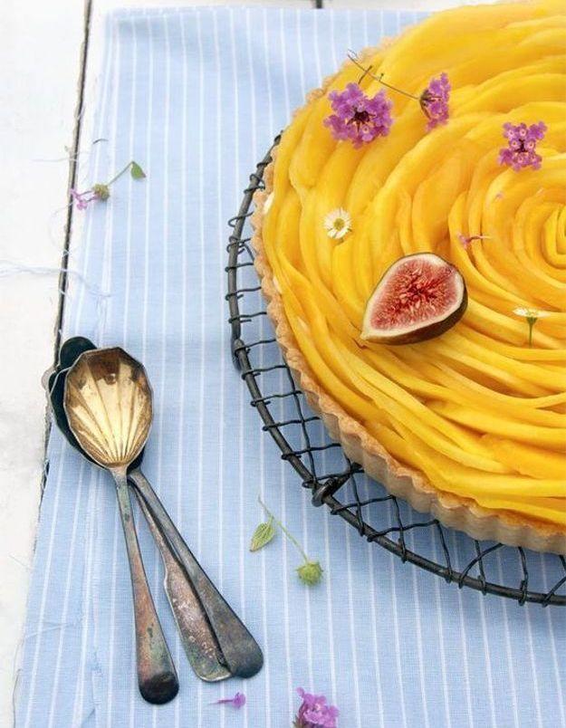 Tarte fleur mangue