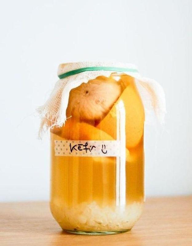 Les  boissons probiotiques, les nouveaux jus ?