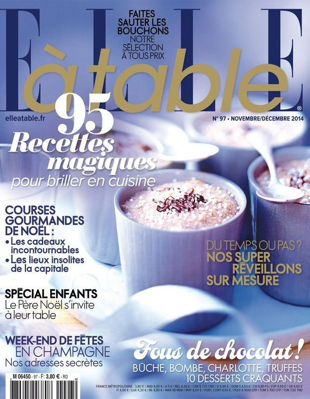 Célébrer noël avec le magazine ELLE à table spécial fêtes