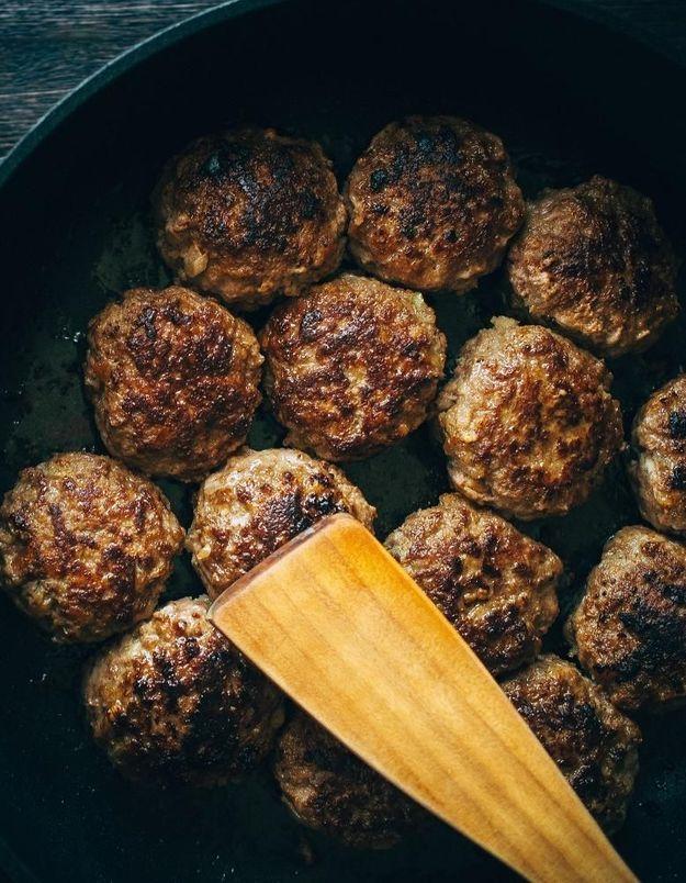 On connait (enfin) la vraie recette des boulettes de viande Ikea