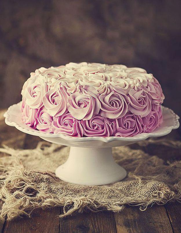 Comment faire un rose cake ?