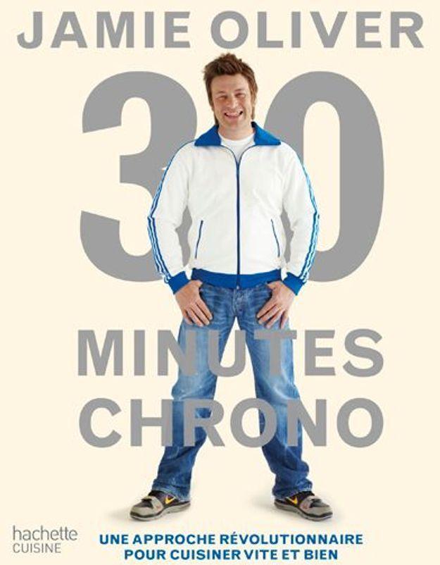Des menus en 30 mn chrono avec Jamie Oliver