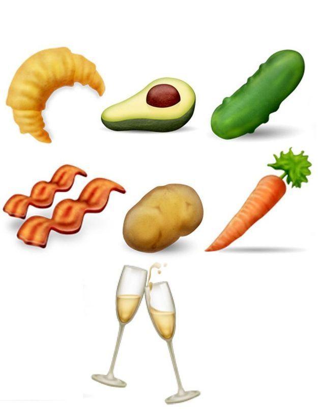 Emoji : on fait un point sur les nouveaux pictos gourmands