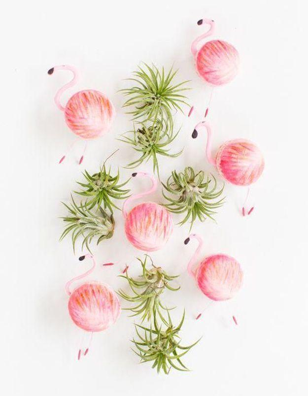Le flamant rose, la tendance tropicool de l'été