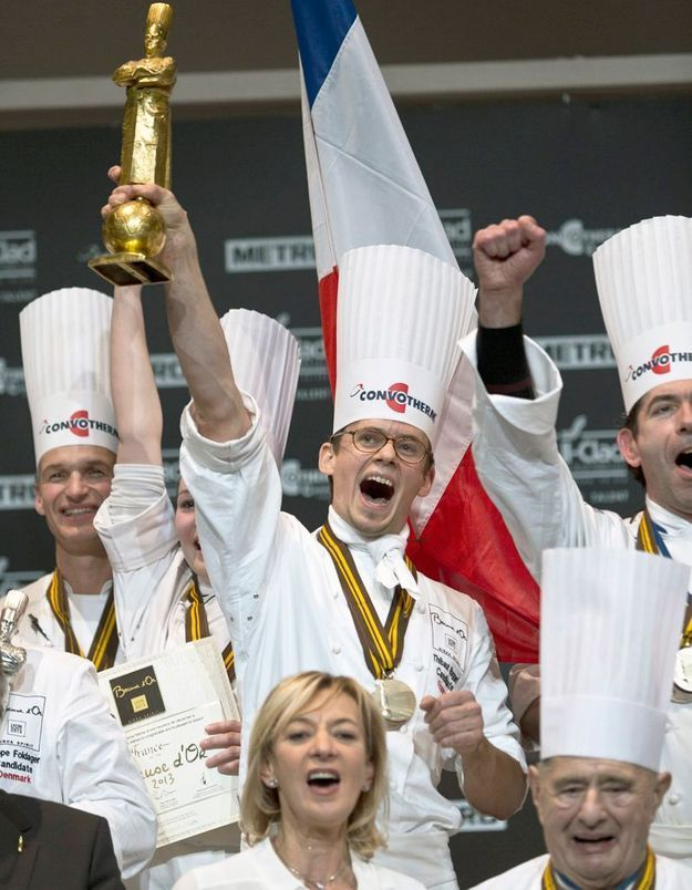 La France remporte le Bocuse d'or 2013
