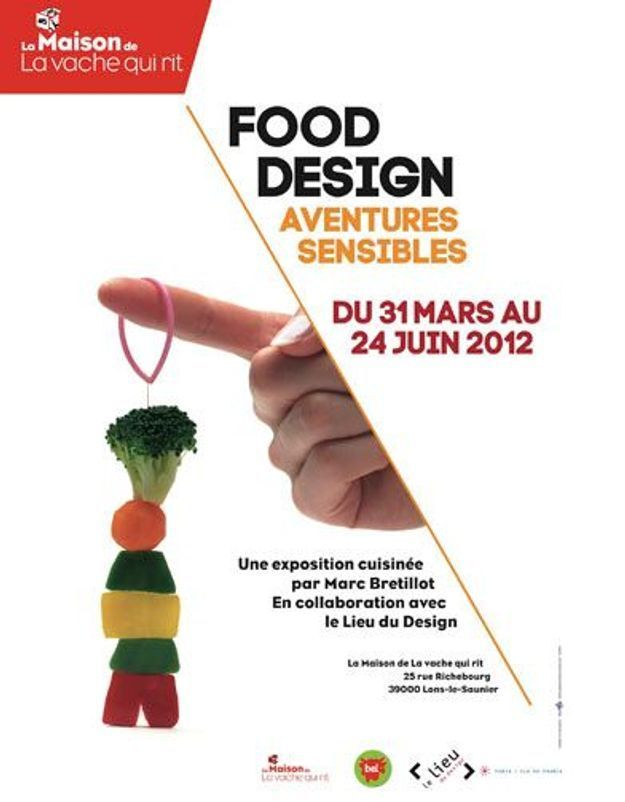 Le design culinaire s'expose chez la vache qui rit