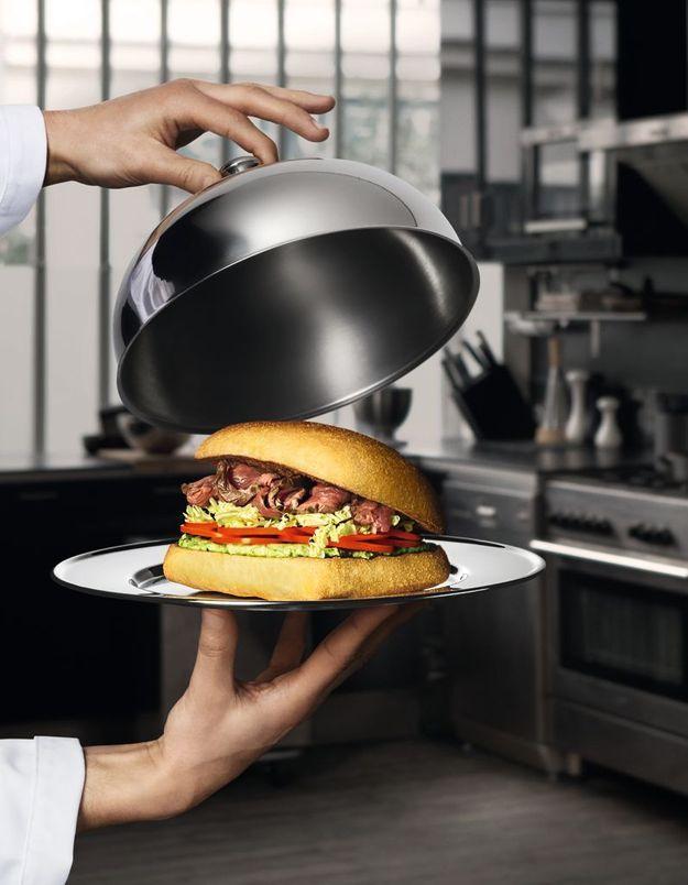 Le sandwich « chaud » de Florent (de Top Chef) chez Paul