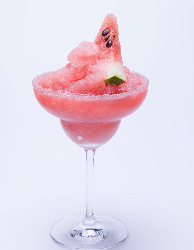 Le slushy de vin blanc, le cocktail de votre été