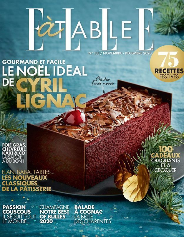 Fêtons Noël avec le nouveau ELLE à Table