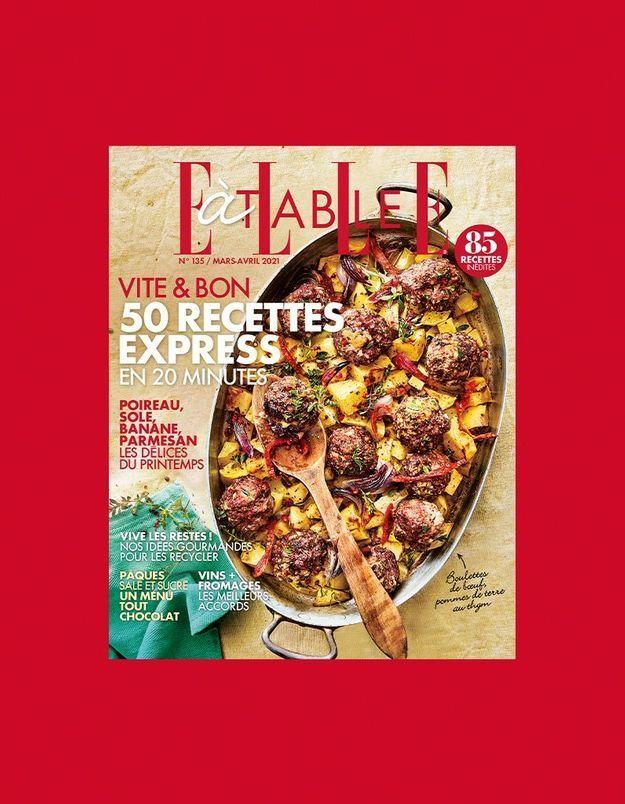 Facile la cuisine express avec le nouveau ELLE à Table