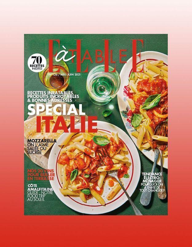Vive l'Italie avec le nouveau ELLE à Table
