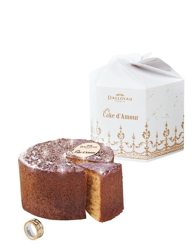On craque pour le Cake d'amour de Dalloyau