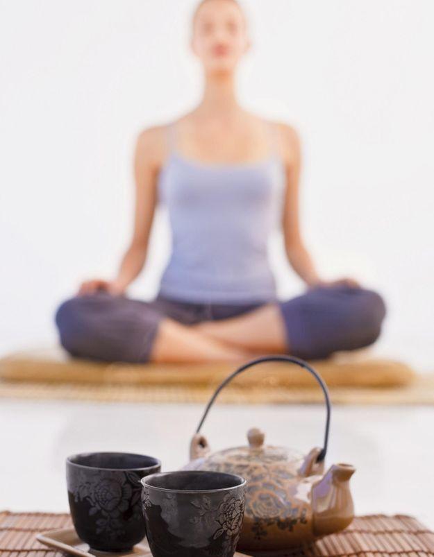 On mange quoi quand on fait du yoga ?
