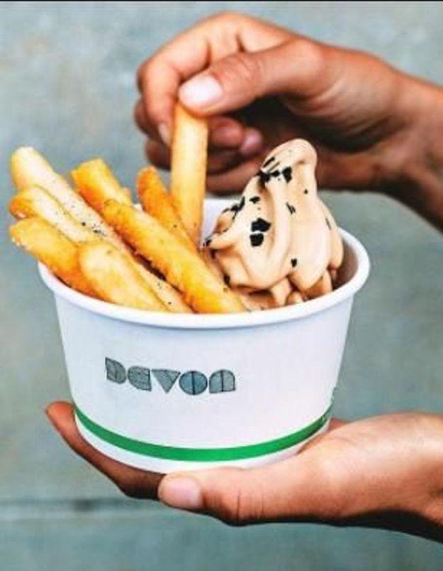 Prêts à dipper vos frites cet été dans une crème glacée ?