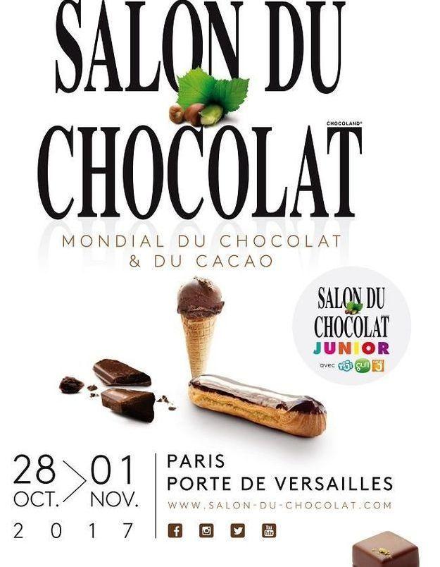 Découvrez tout le programme du Salon du chocolat 2017