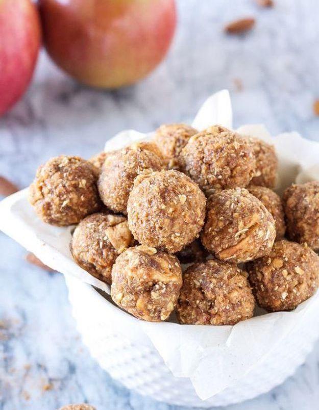 Protéines balls aux pommes : la nouvelle obsession des fit girls