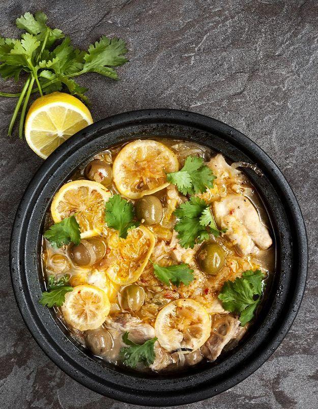 Le tajine poulet citron confit de Myriam Ettahri, membre du jury Master chef Maroc