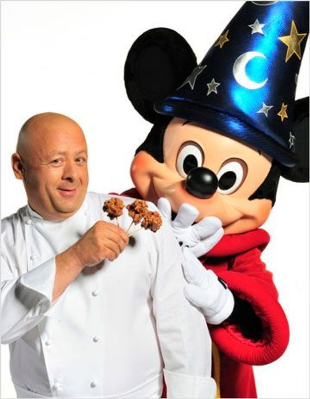 Thierry Marx enchante les allées du parc de Disneyland Paris