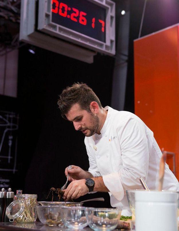 Top Chef :  Fabien surprend avec son menu chic à 8 euros
