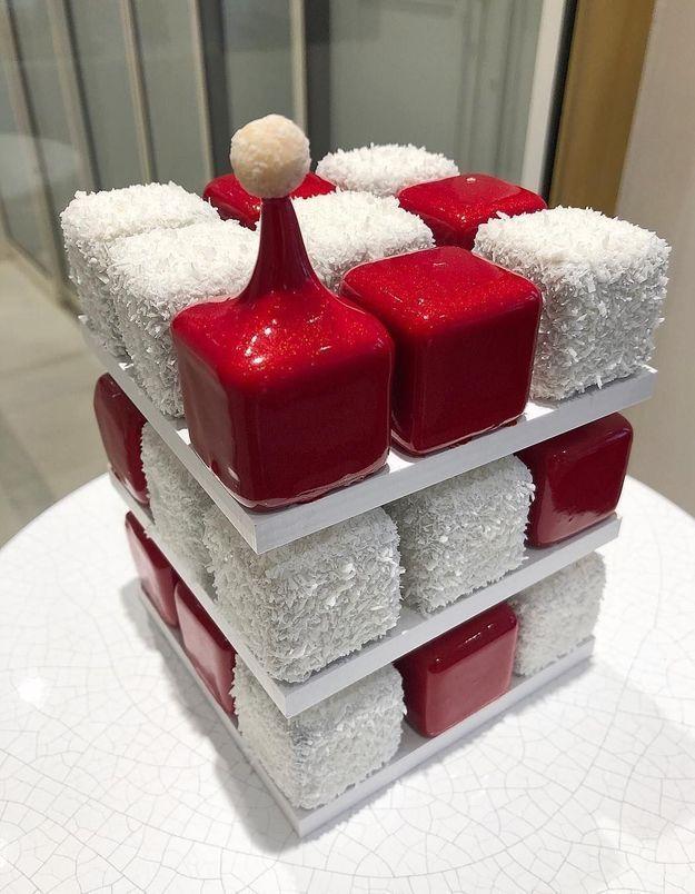 Voici le dessert de Noël de Cédric Grolet, et ce n'est pas une bûche !