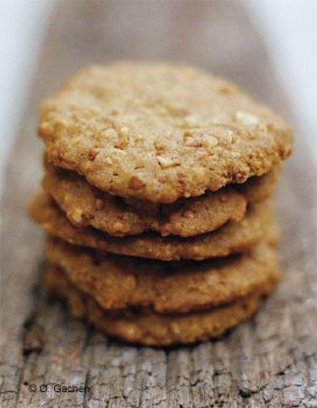 Biscuits aux amandes flocons d'avoine