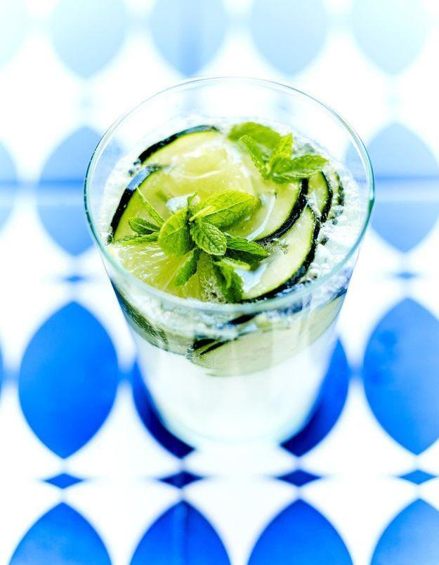 Cocktail concombre tequila