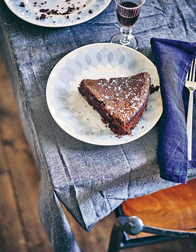 Gâteau italien café, choco, noisettes