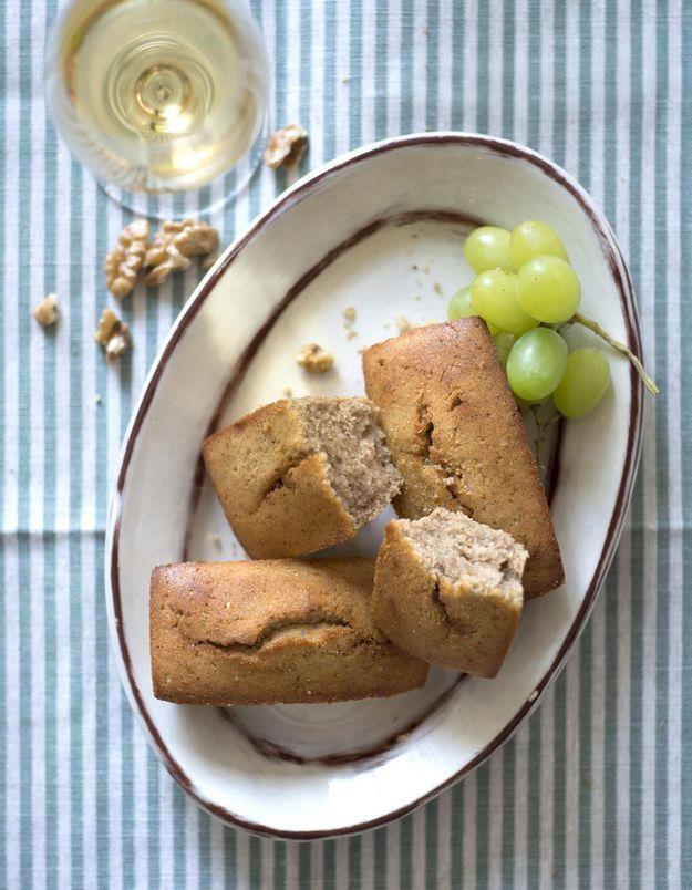Gâteaux moelleux aux noix
