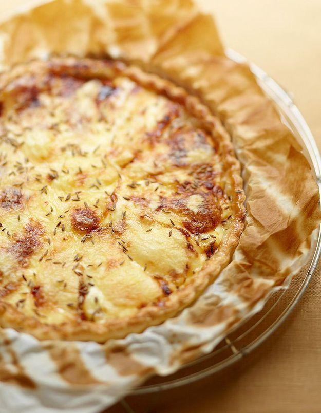 La tarte poires-maroilles de Patricia Loison