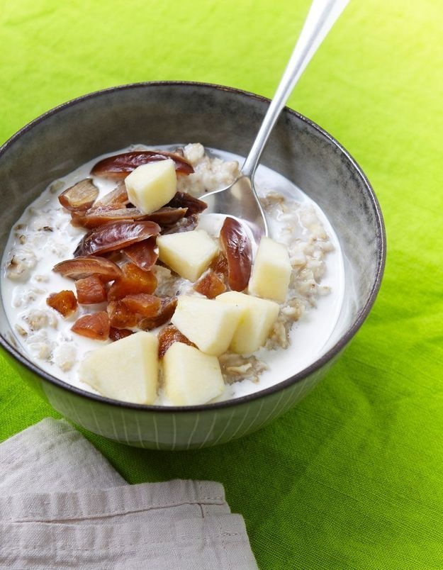 Porridge aux fruits secs